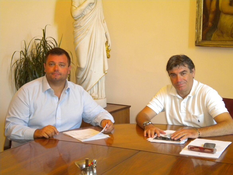 Incontro tra Sindaco di Fano Massimo Seri e Consigliere Regionale Mirco Carloni