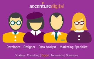 Accenture Digital Hackathon: vinci premi, stage, assunzione – scadenza 18 maggio 2016