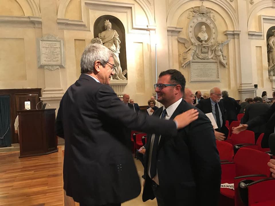 MIRCO CARLONI AL 50° ANNIVERSARIO DELL'INRCA