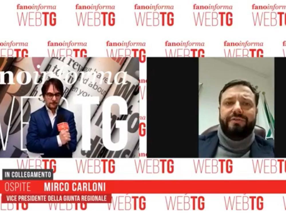 LIVE FANOINFORMA – INTERVISTA AL VICEPRESIDENTE  MIRCO CARLONI