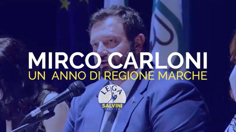 MIRCO CARLONI – UN ANNO DI REGIONE MARCHE