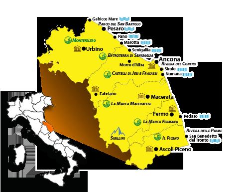 Bando per l'incentivazione dei flussi turistici in entrata tramite gli operatori incoming Marche (OTIM)